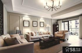 美式风格家居三室两厅装修效果图大全