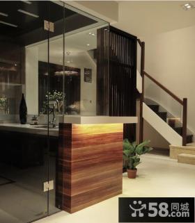 楼梯玄关装饰效果图欣赏