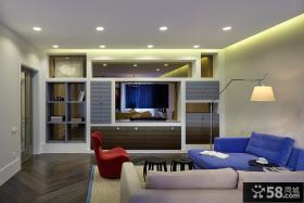 时尚现代客厅设计装潢案例