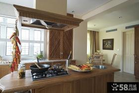 简欧风格别墅厨房设计家装图片