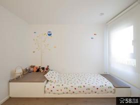 时尚简约地台儿童房卧室