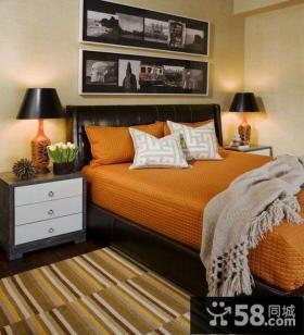 16万打造豪华美式风格装修卧室图片