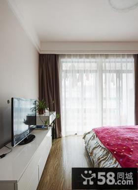 韩式家居卧室窗帘图片