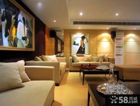 客厅沙发背景墙装饰画图片大全