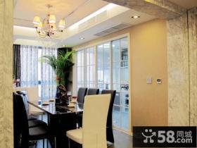 现代室内装修风格 餐厅吊顶图片