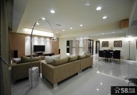 现代家装客厅吊顶图