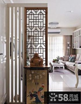 中式居家玄关装修设计