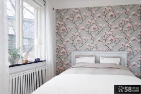 9平米家居卧室壁纸效果图