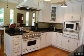简欧风格厨房设计图片欣赏