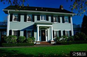 两层欧式别墅外观设计效果图