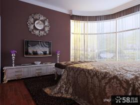 卧室电视背景墙设计图