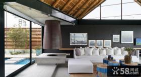 北欧风格别墅客厅图片大全欣赏