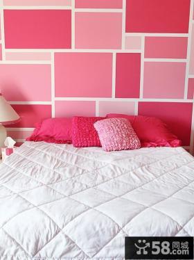 卧室墙纸颜色效果图