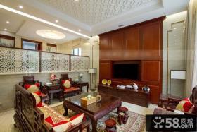 古典端庄中式客厅设计