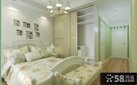 17万打造现代简约风格室内卧室装修效果图大全2014图片