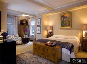 美式风格主卧室装修效果图大全2012图片