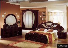 欧式古典风格卧室家具图片欣赏