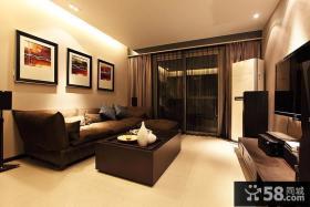 客厅沙发背景墙装饰画图片