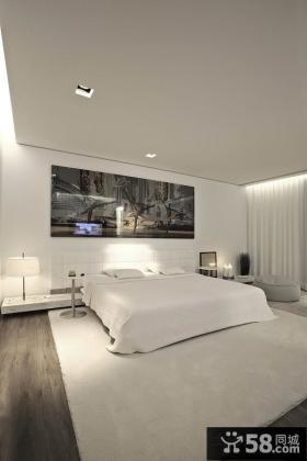 现代时尚的现代风格卧室装修效果图大全2014图片