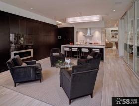 现代简约风格的客厅装修图片