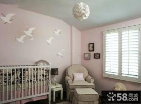 简约设计室内儿童房效果图
