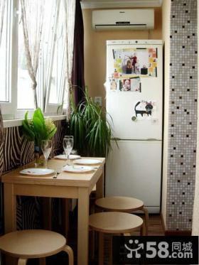 小户型阳台家庭装修效果图片