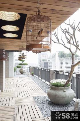 家装复式阳台设计图片欣赏大全