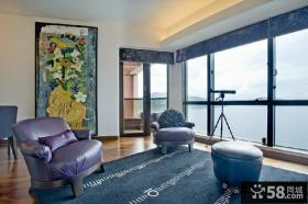 美式风格阳台设计图片
