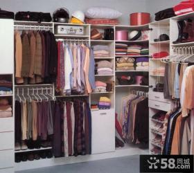 开放式衣柜装修设计
