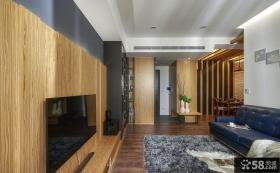 美式家庭装修客厅电视背景墙欣赏
