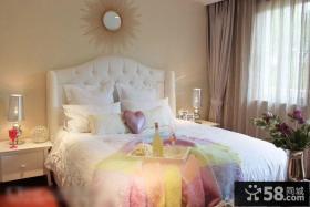 公主房卧室装潢设计效果图