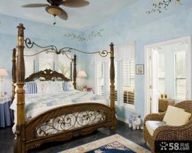 美式家装主卧室装修设计图