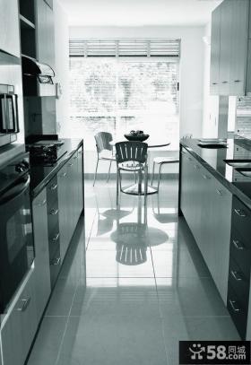 现代风格厨房效果图片