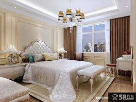 欧式奢华的别墅图片大全 卧室背景墙装修效果图