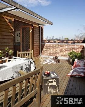 优质露天阳台装修设计图欣赏