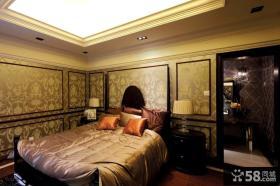 欧式古典风格次卧室装修效果图