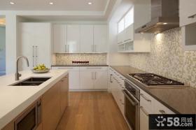150平米复式楼厨房装修效果图