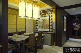 新古典中式餐厅设计