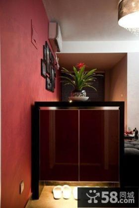 现代风格房间鞋柜设计装修效果图