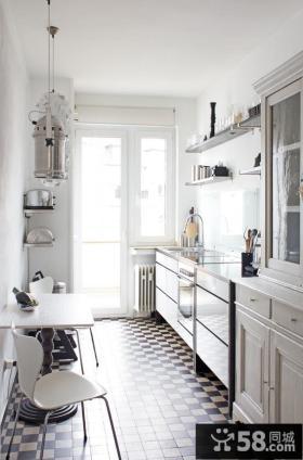 2013整体小厨房效果图