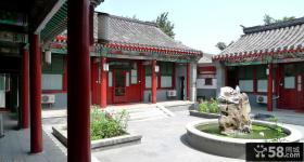 中式古典四合院别墅图片