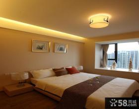 现代简约二居卧室灯具设计