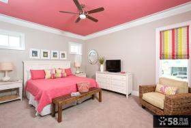 女生卧室装修效果图大全2013图片欣赏