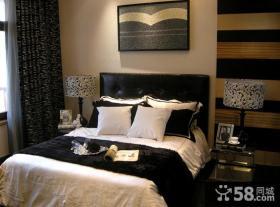 欧式新古典二居室卧室装修效果图
