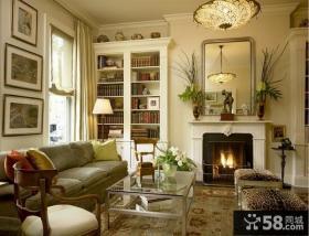 欧式客厅灯具设计图片