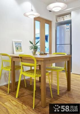 田园简约风格一居室家庭室内设计2014