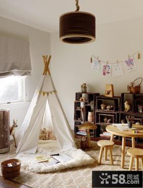 美式风格设计儿童房图片大全