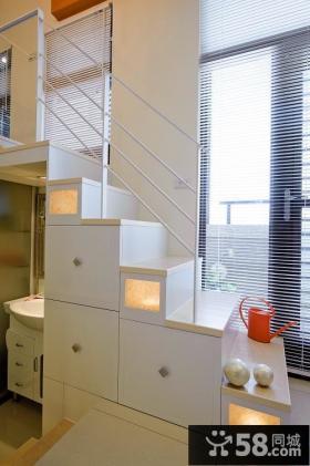 简约小清新复式家居设计欣赏