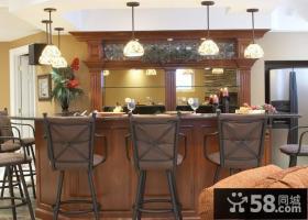 餐厅吊顶灯装修设计效果图