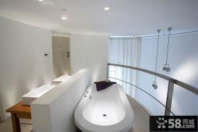 简约风格浴室设计